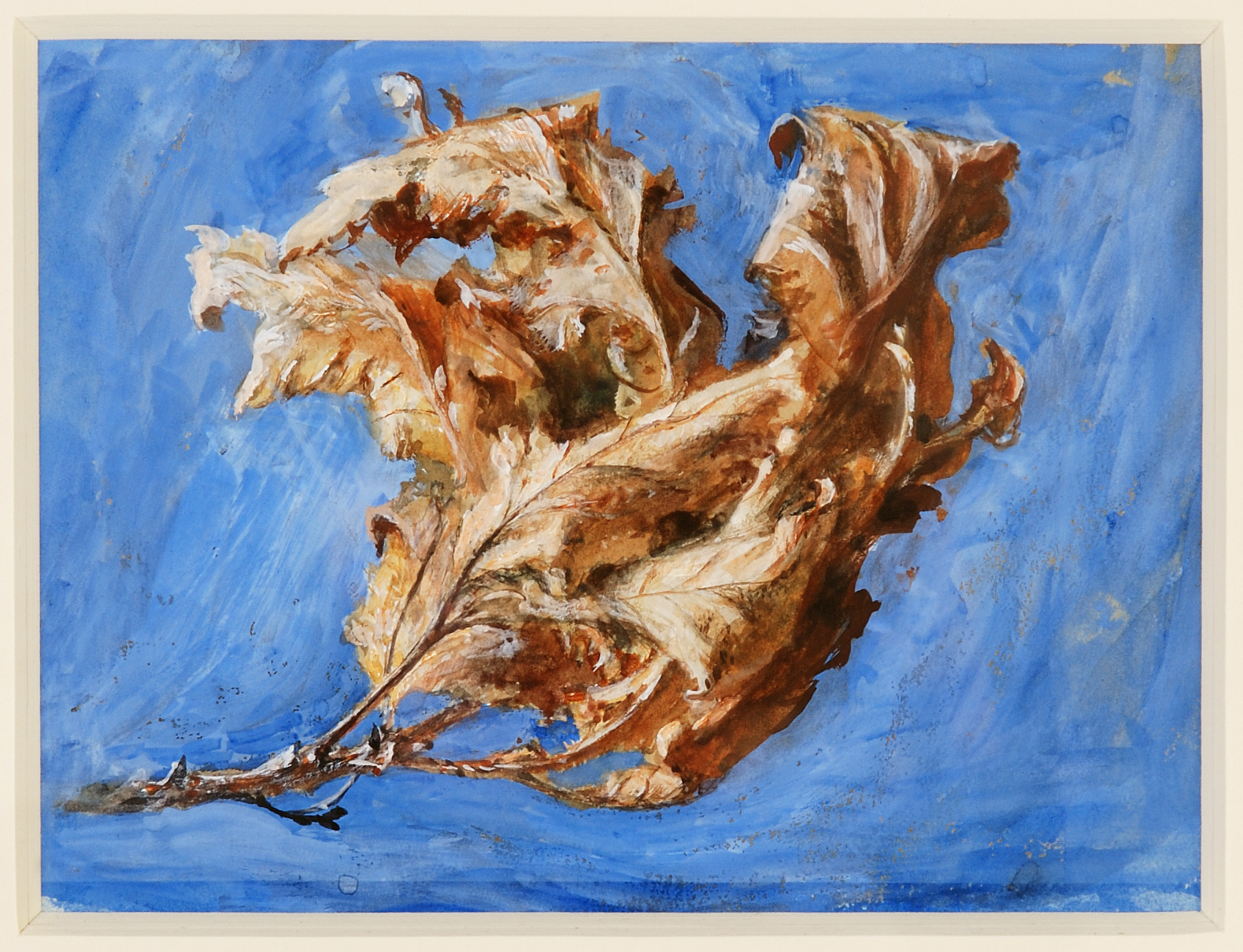 5. John Ruskin, Study of Oak Leaf, 1879. Image © the Guild of St George, Museums Sheffield..jpg